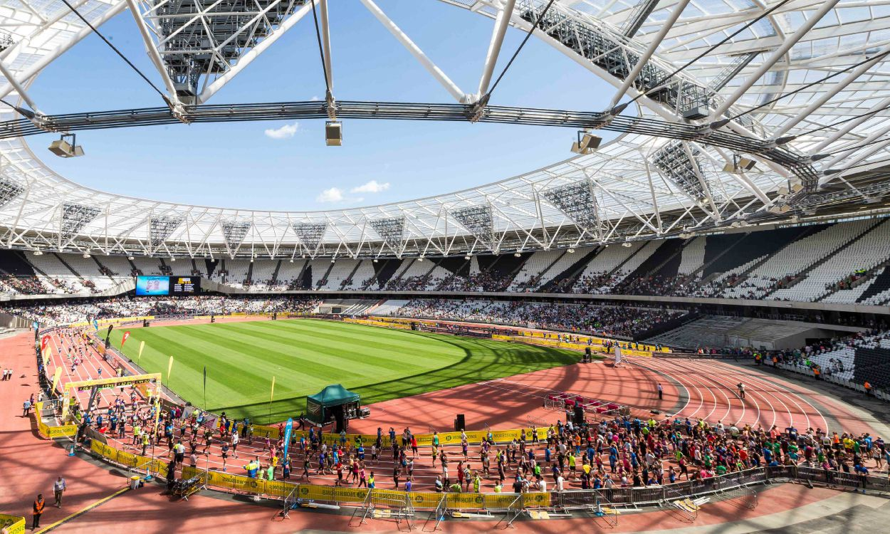 Great Newham London runners to be among first on new Olympic Stadium track
