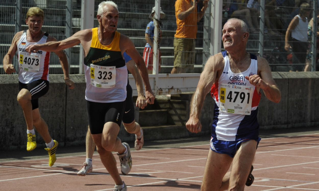 Glyn Sutton among world record-breakers in Lyon