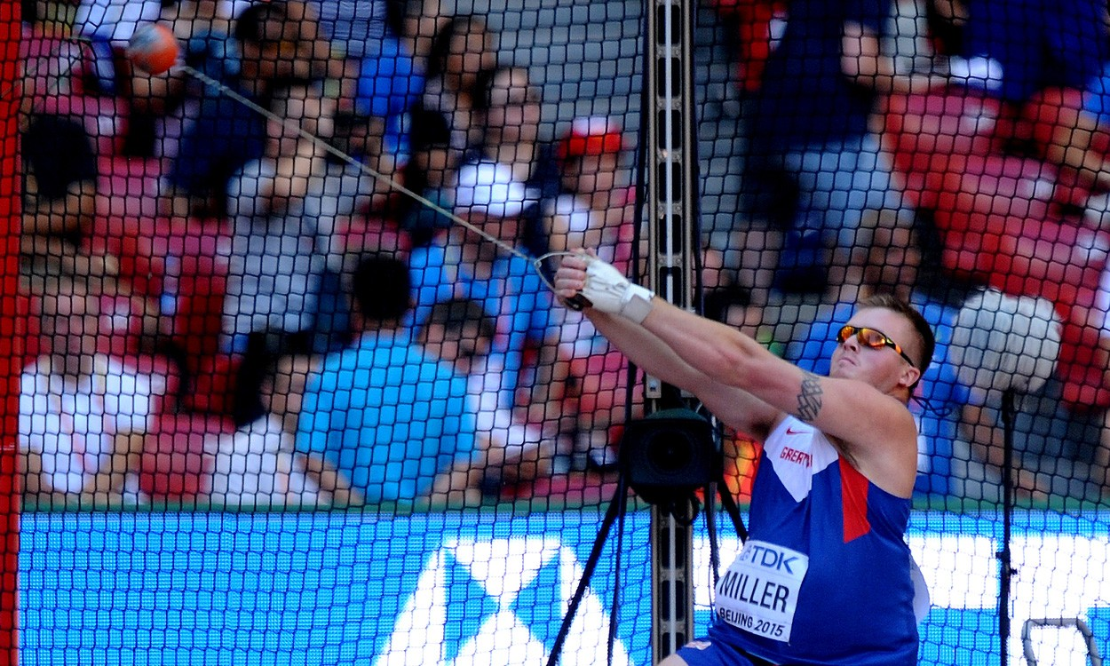 Nick Miller becomes first male Brit to make world hammer final