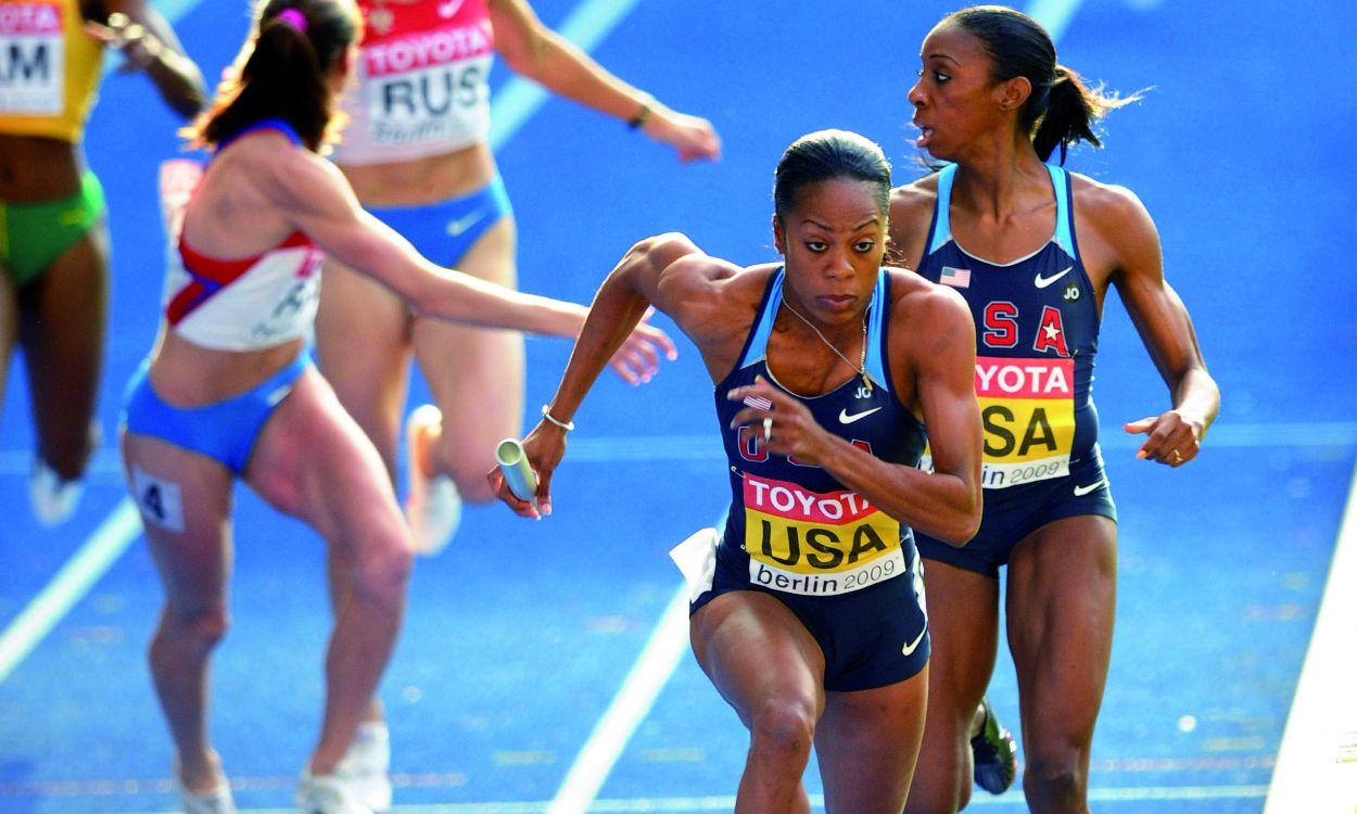 World Championships: Women's relays