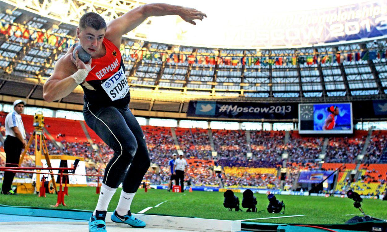 World Championships: Men's shot put