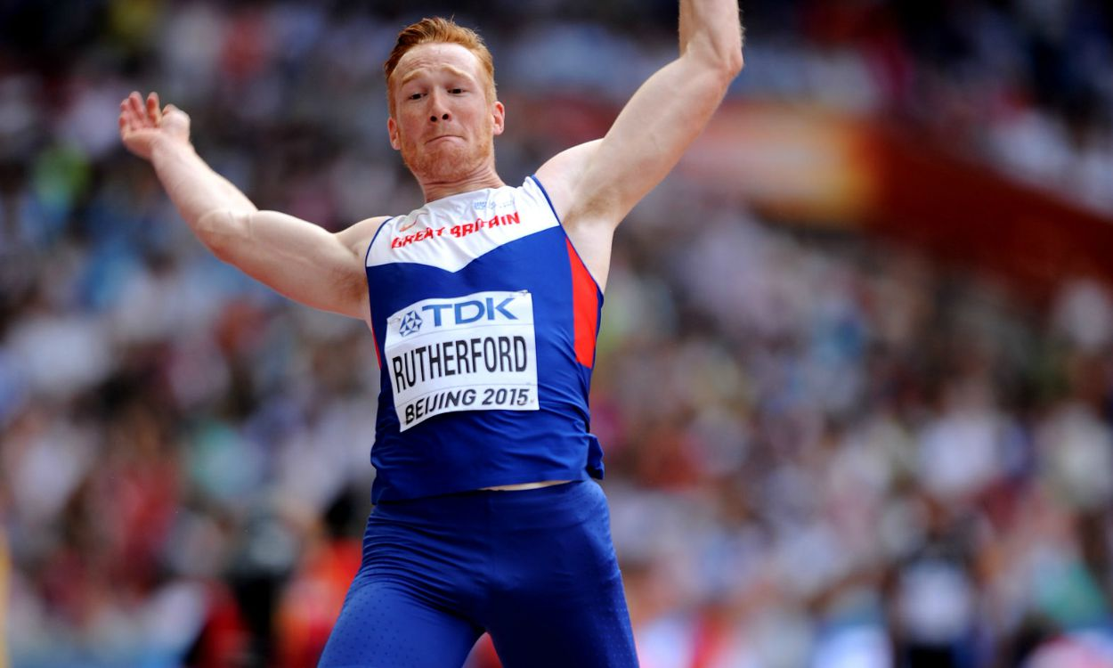 Greg Rutherford remains on course to complete major titles set