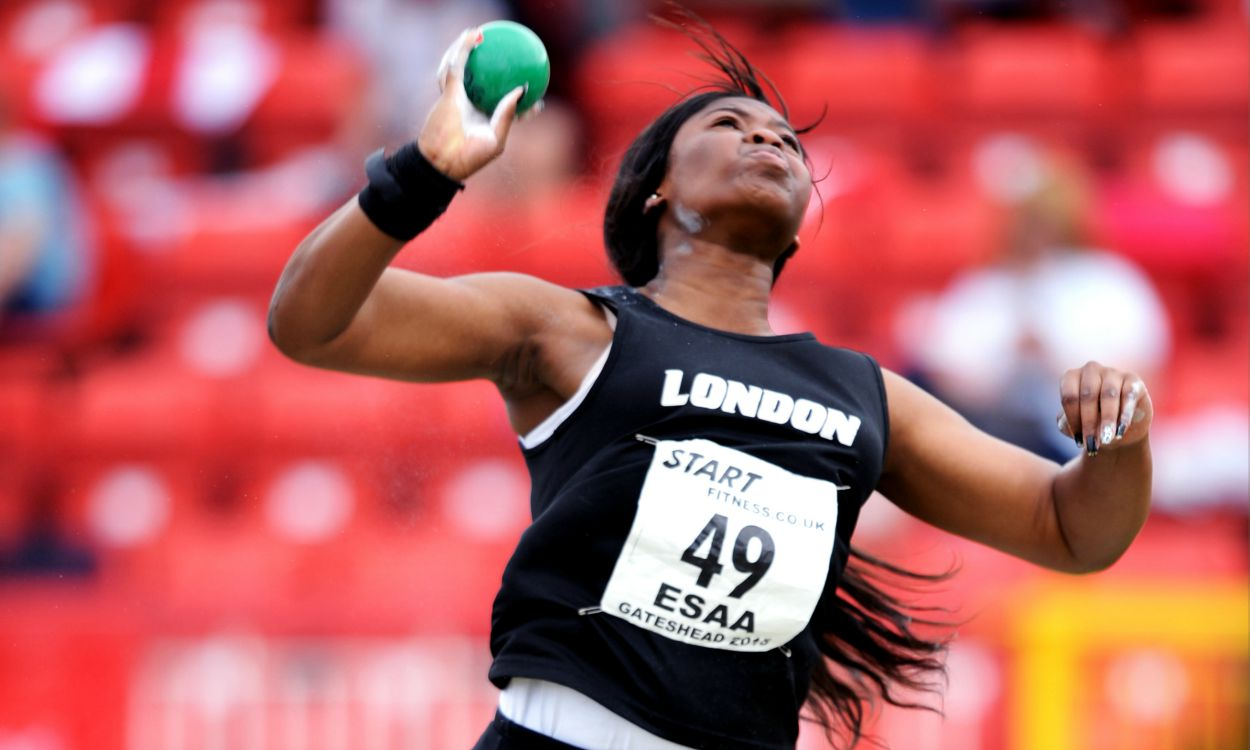 Divine Oladipo breaks UK junior indoor shot put record – weekly round-up
