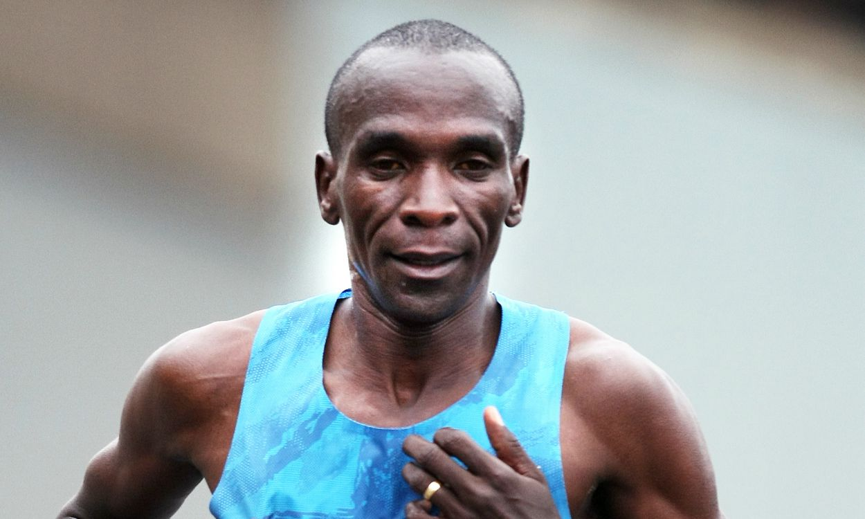 Marathon maestro Eliud Kipchoge