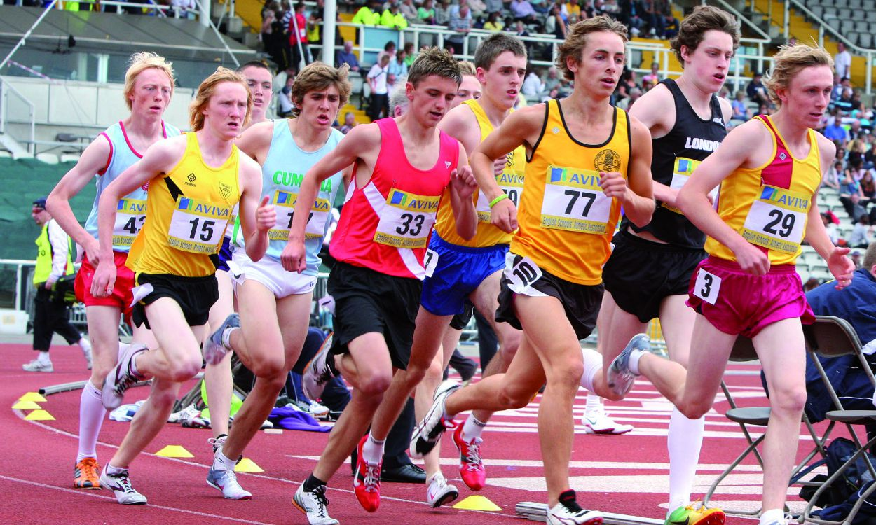 English Schools 1500m: Class of 2009