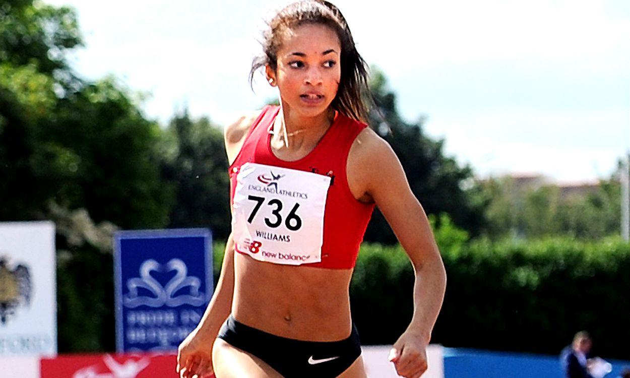 Hannah Williams sprinting into the spotlight