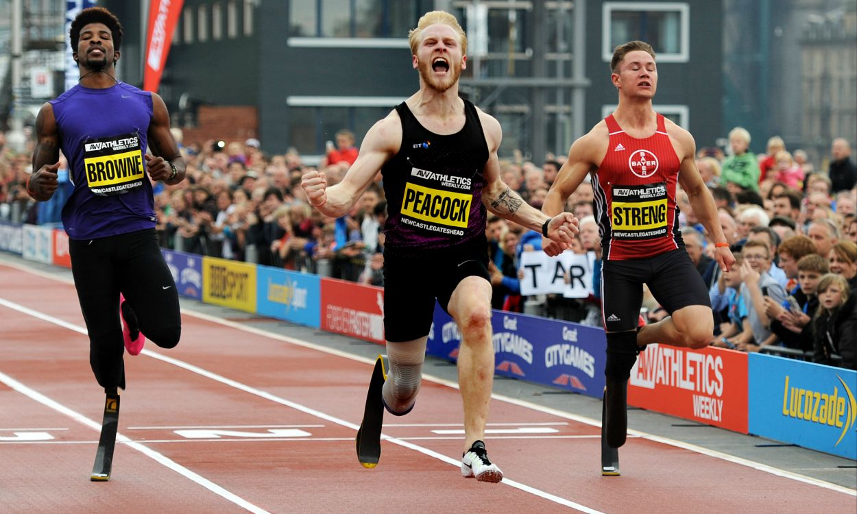 Jonnie Peacock and Richard Browne to renew rivalry at Great CityGames Manchester