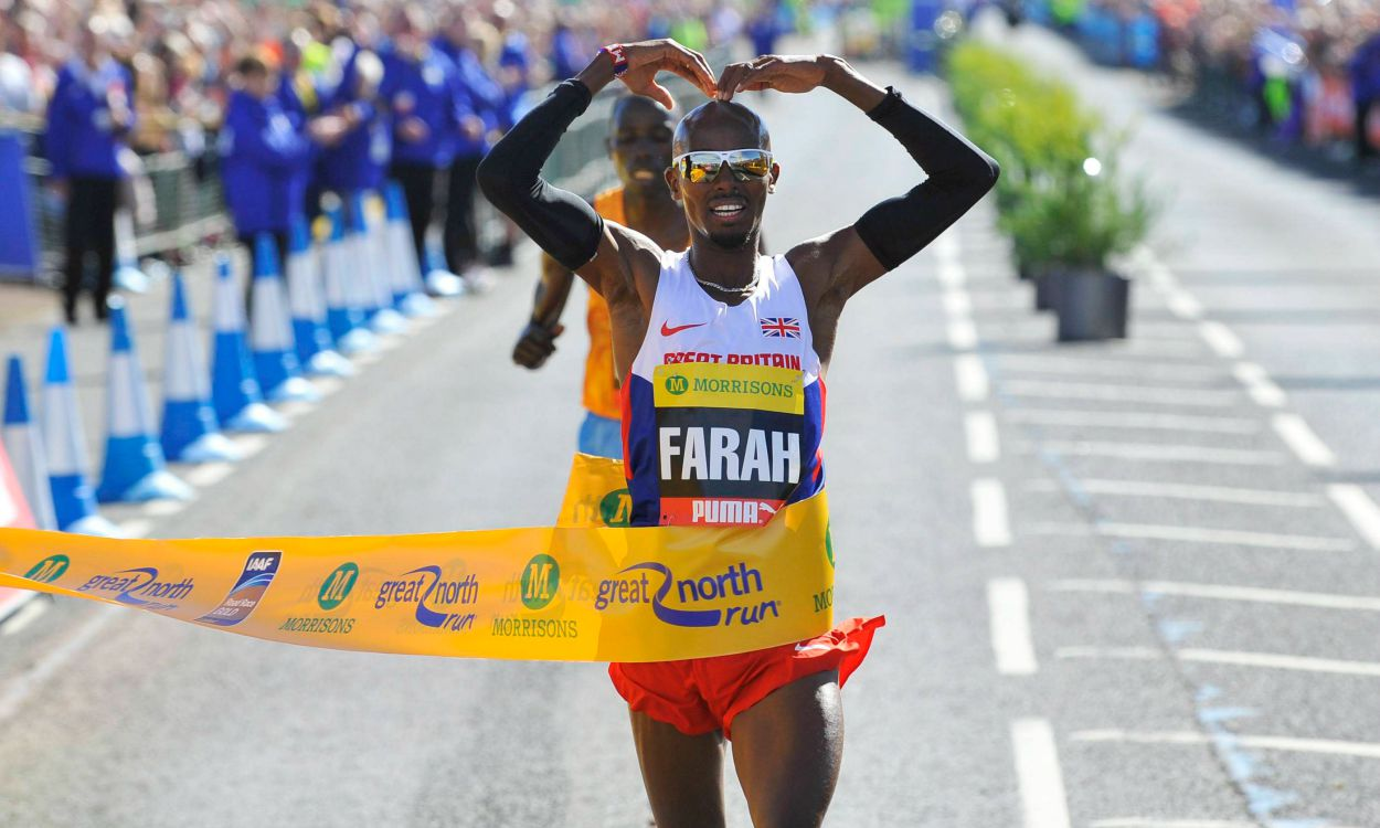 Farah chases triple, Dibaba vs Cheruiyot at Great North Run