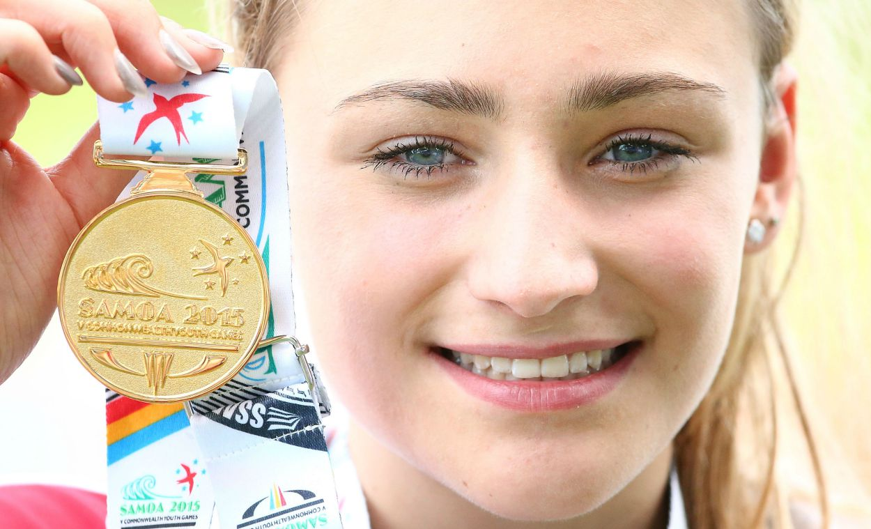 Niamh Emerson gets high jump gold at Commonwealth Youth Games