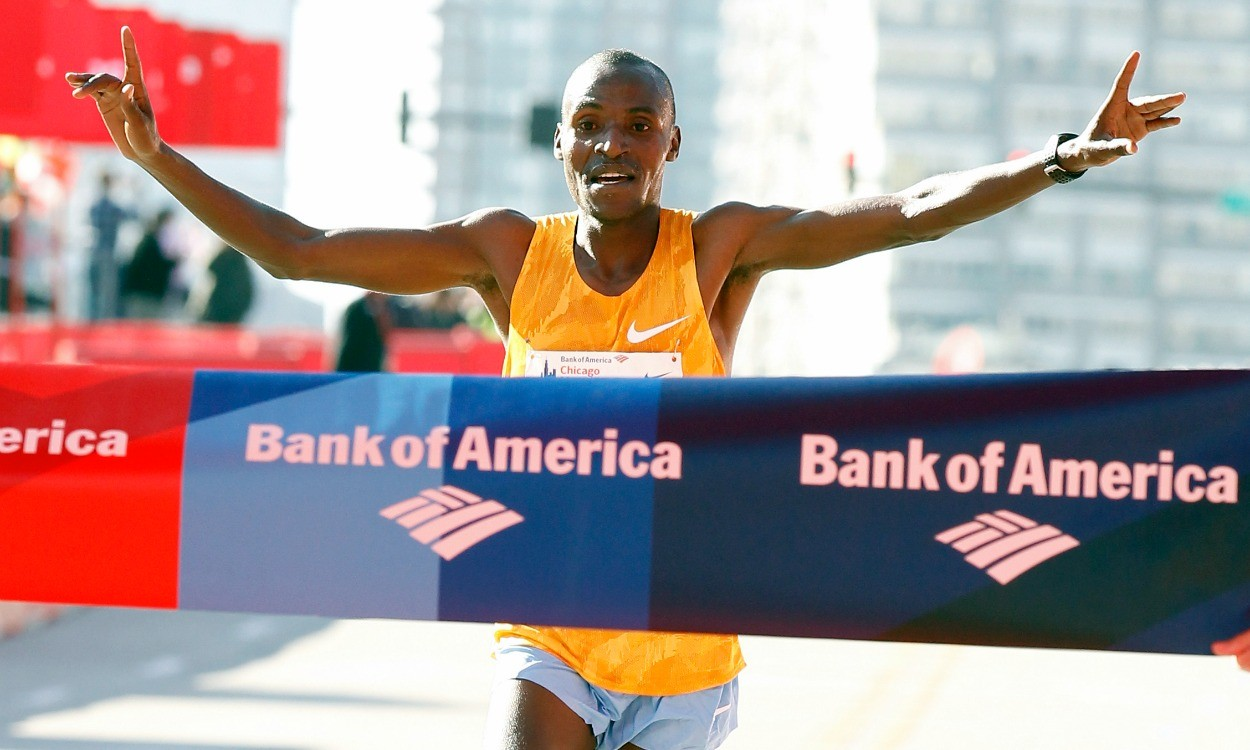 Dickson Chumba and Florence Kiplagat to defend Chicago Marathon titles