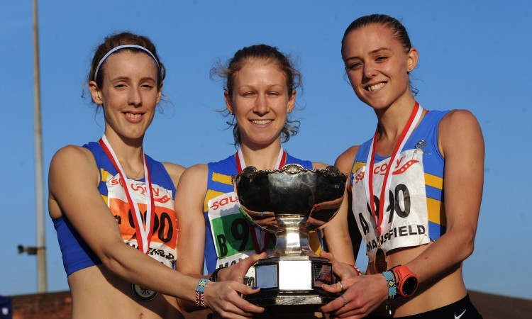 Leeds women English Cross Country Relays 2015