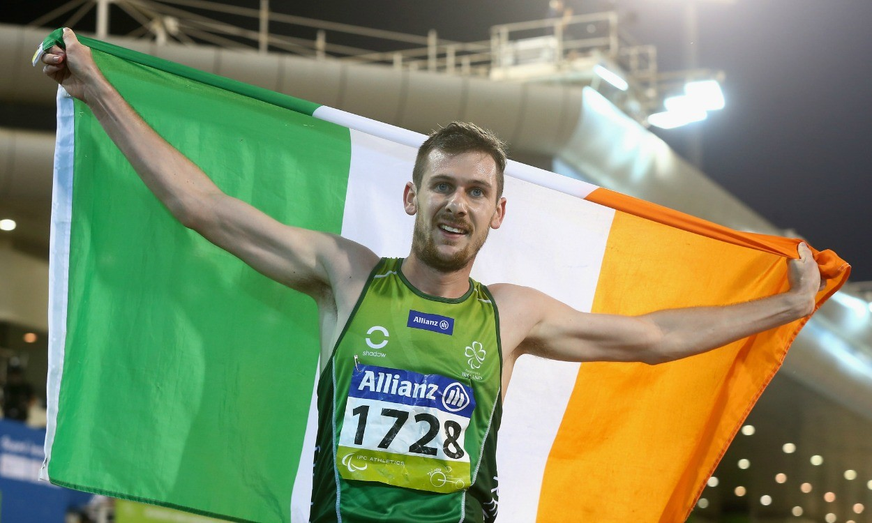 Ireland's Michael McKillop gets second gold in Doha
