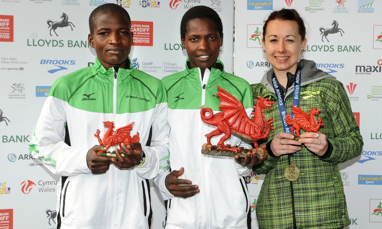 Siwa and Jerotich win Cardiff Half, McLeod and Coulson claim British titles