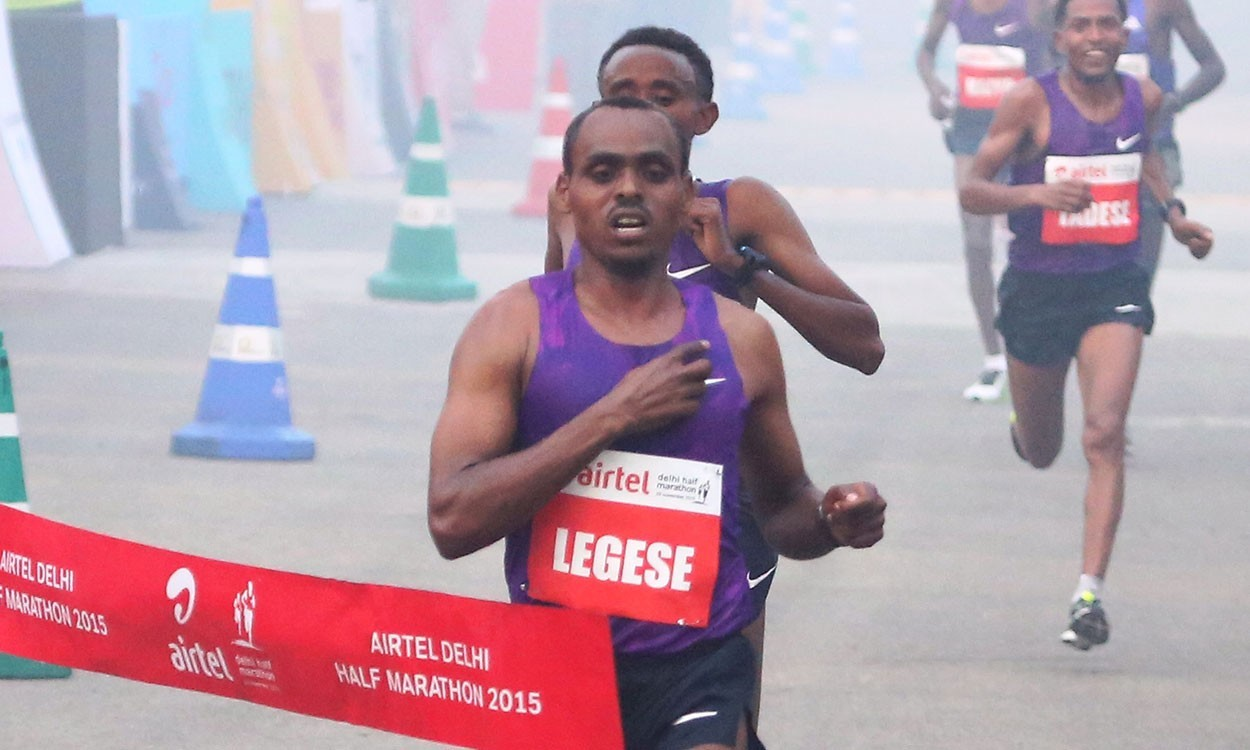 Birhanu Legese wins Delhi Half in 59:20 – weekly round-up