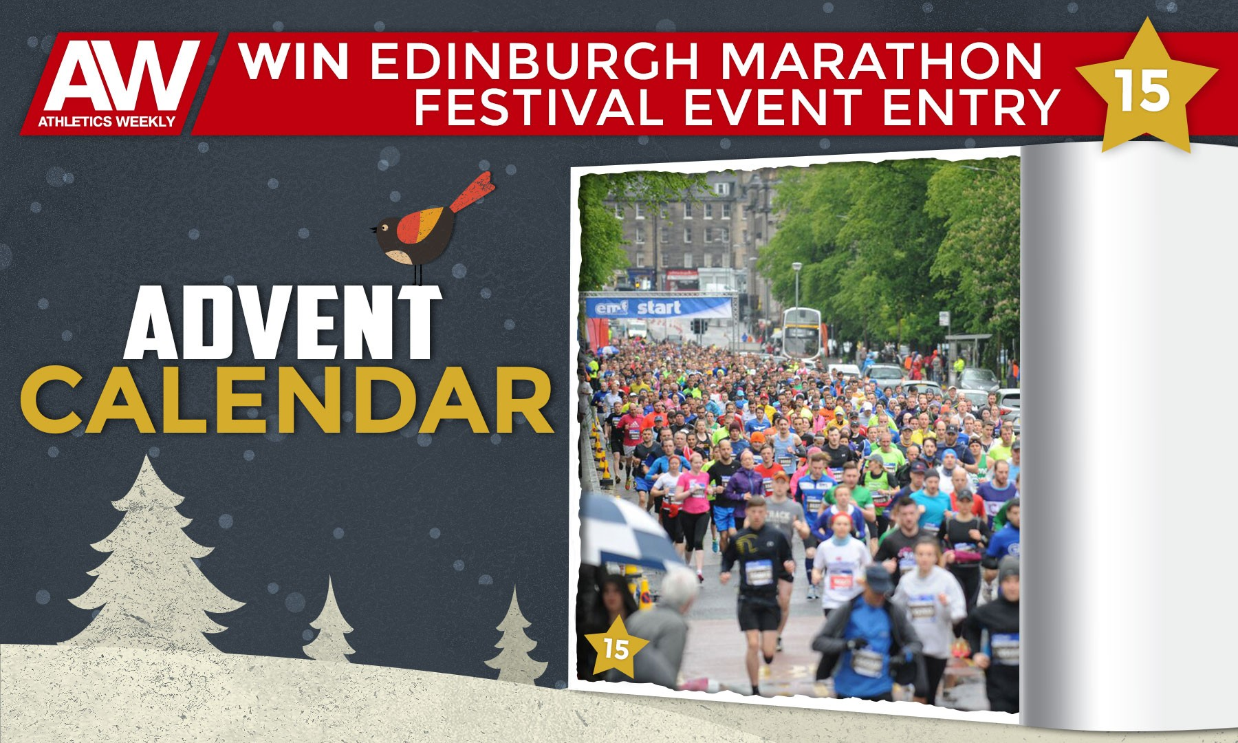 Win Edinburgh Marathon Festival event entry