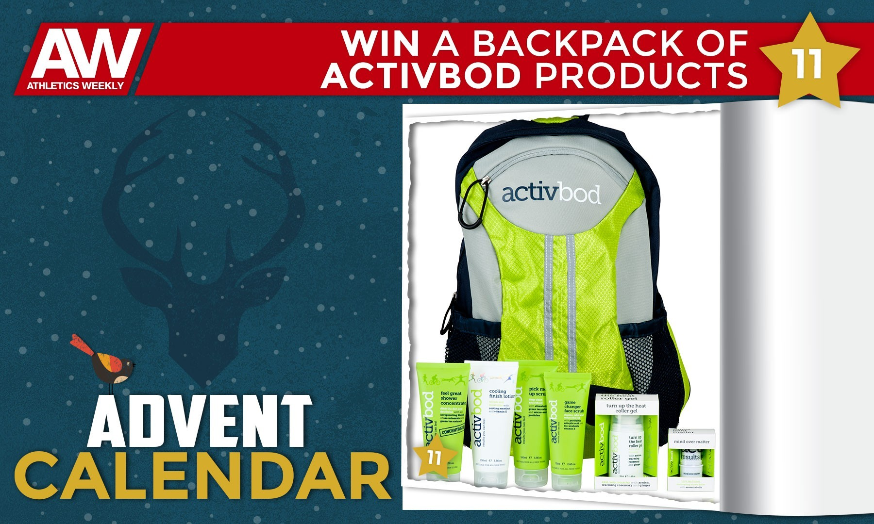 Win a selection of activbod products
