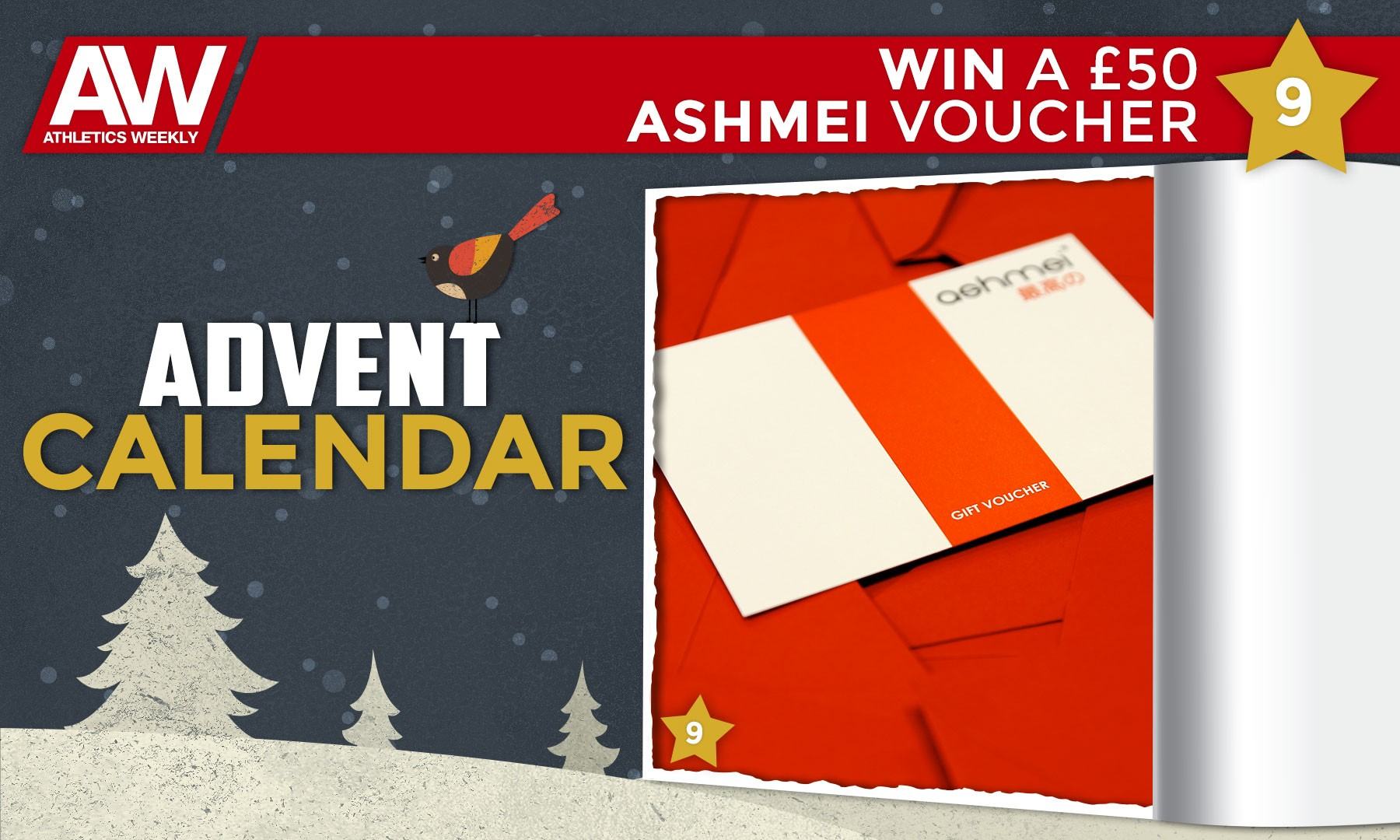 Win an ashmei voucher