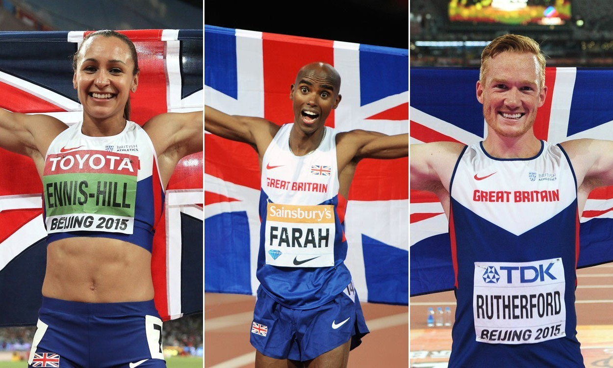 Ennis-Hill, Farah and Rutherford among BBC SPOTY nominees