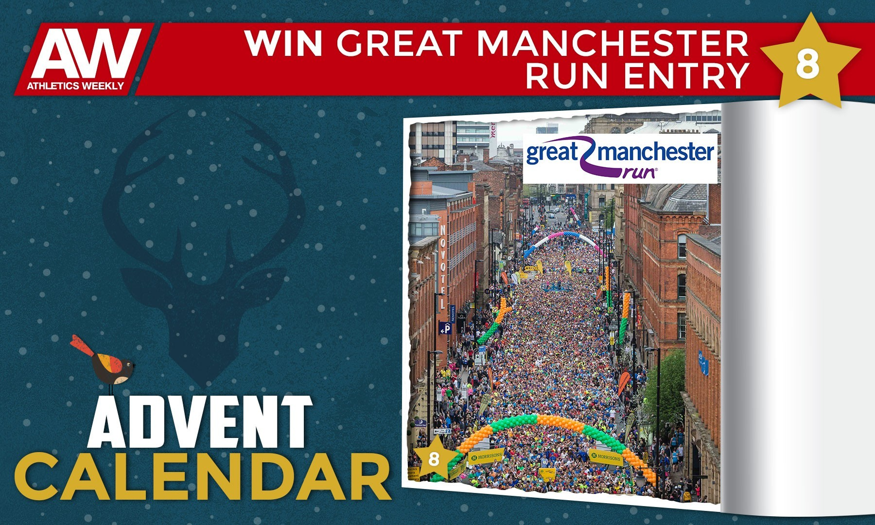 Win a pair of entries for the Great Manchester Run