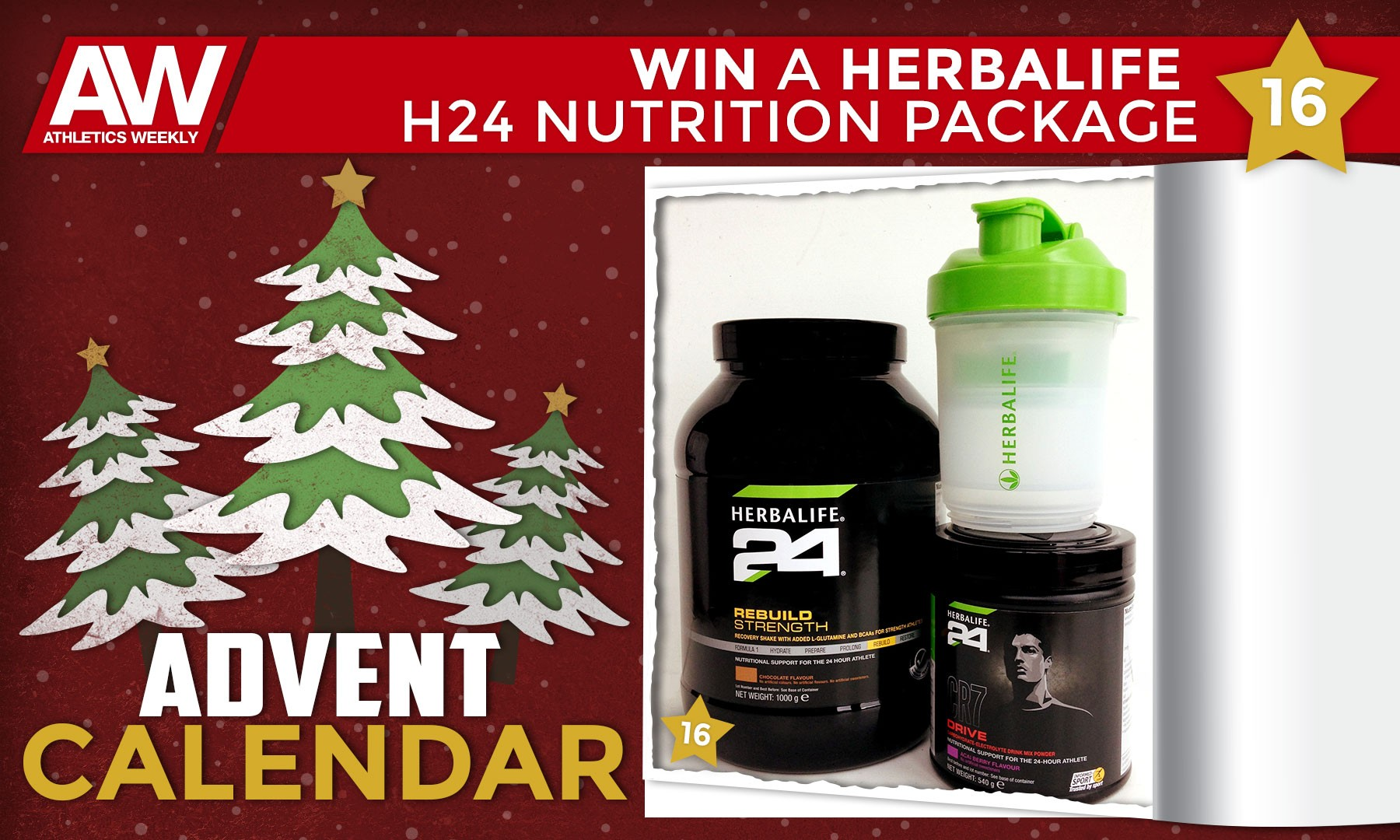 Win a Herbalife H24 nutrition package