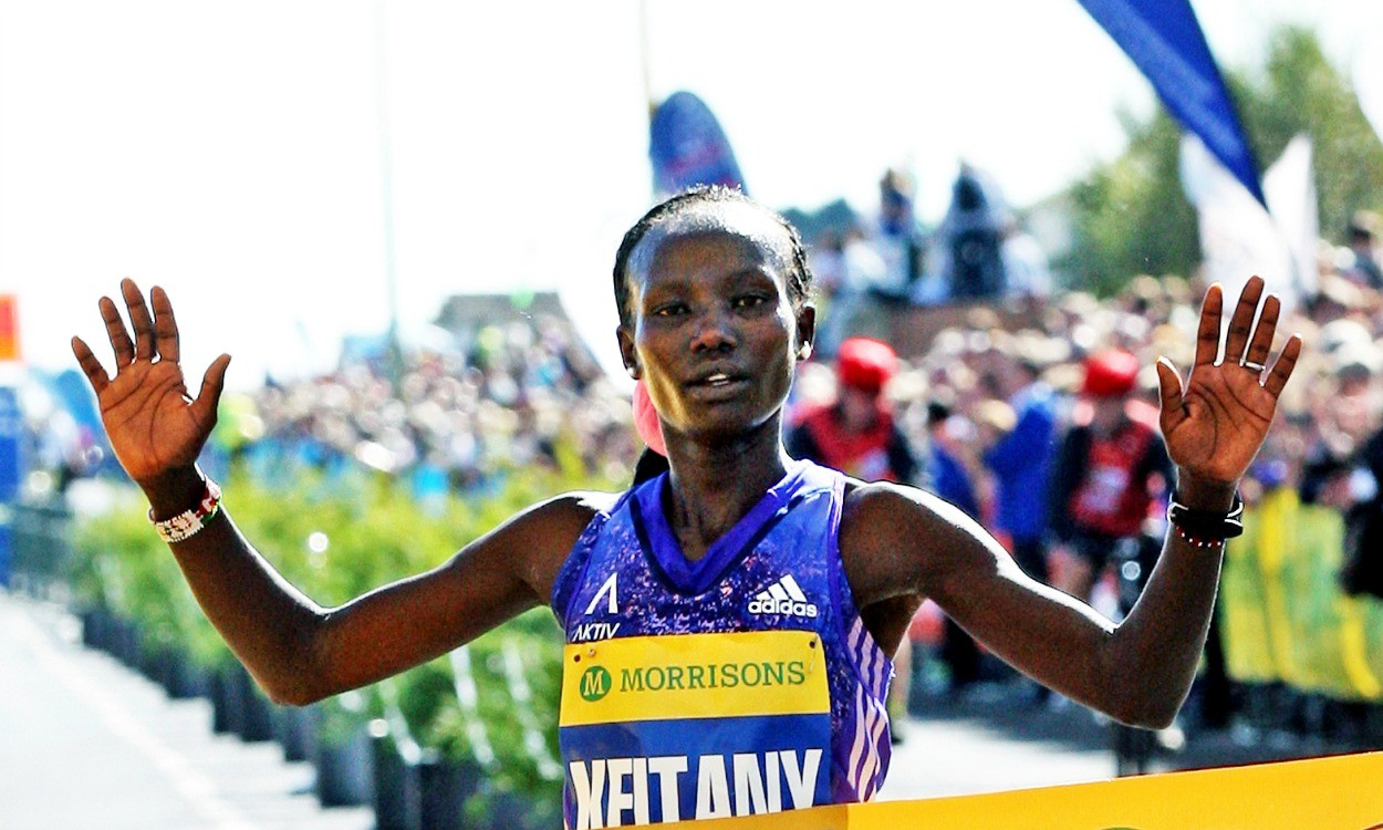 Mary Keitany and Stanley Biwott defend New York City Marathon titles