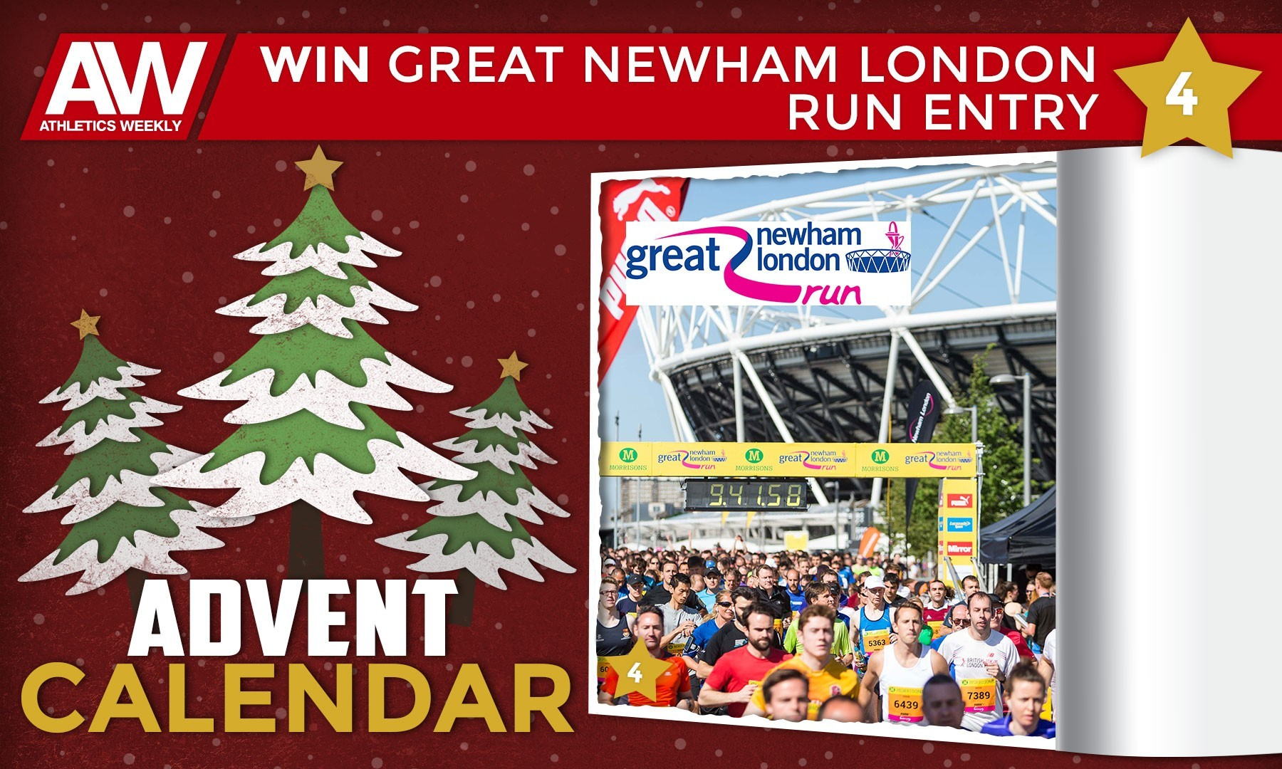Win a pair of entries for the Great Newham London Run