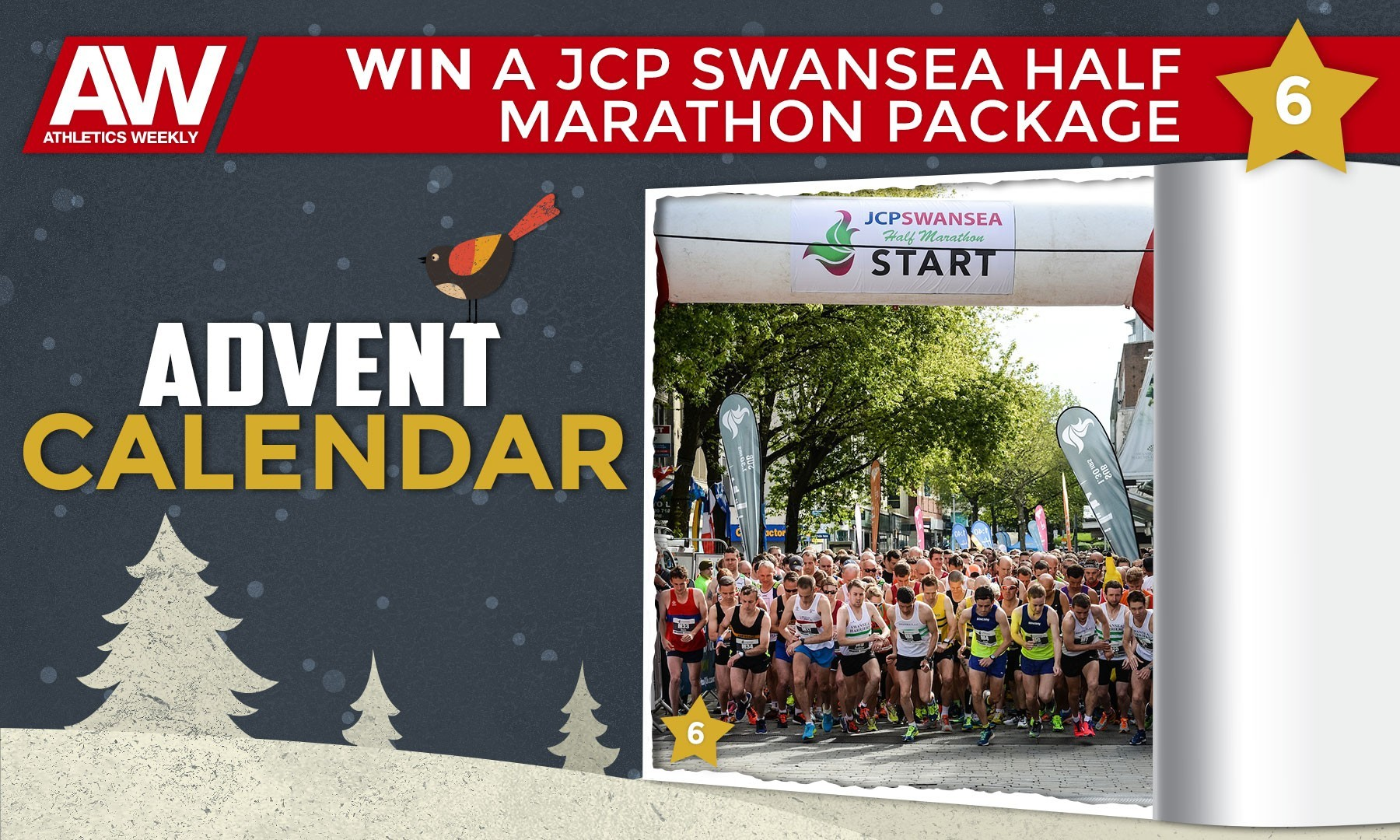 Win JCP Swansea Half Marathon entry and hotel stay