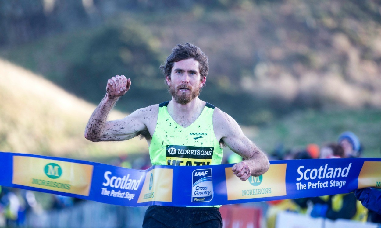 Heath to take on Farah as he aims for Great Edinburgh XCountry hat-trick