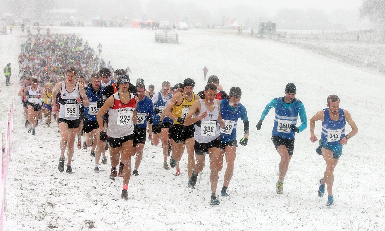 Martin and Smith win at a snowy NE XC Champs – weekly round-up