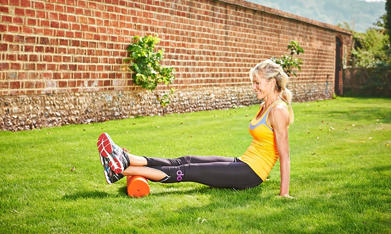 Nell McAndrew's foam roller tips
