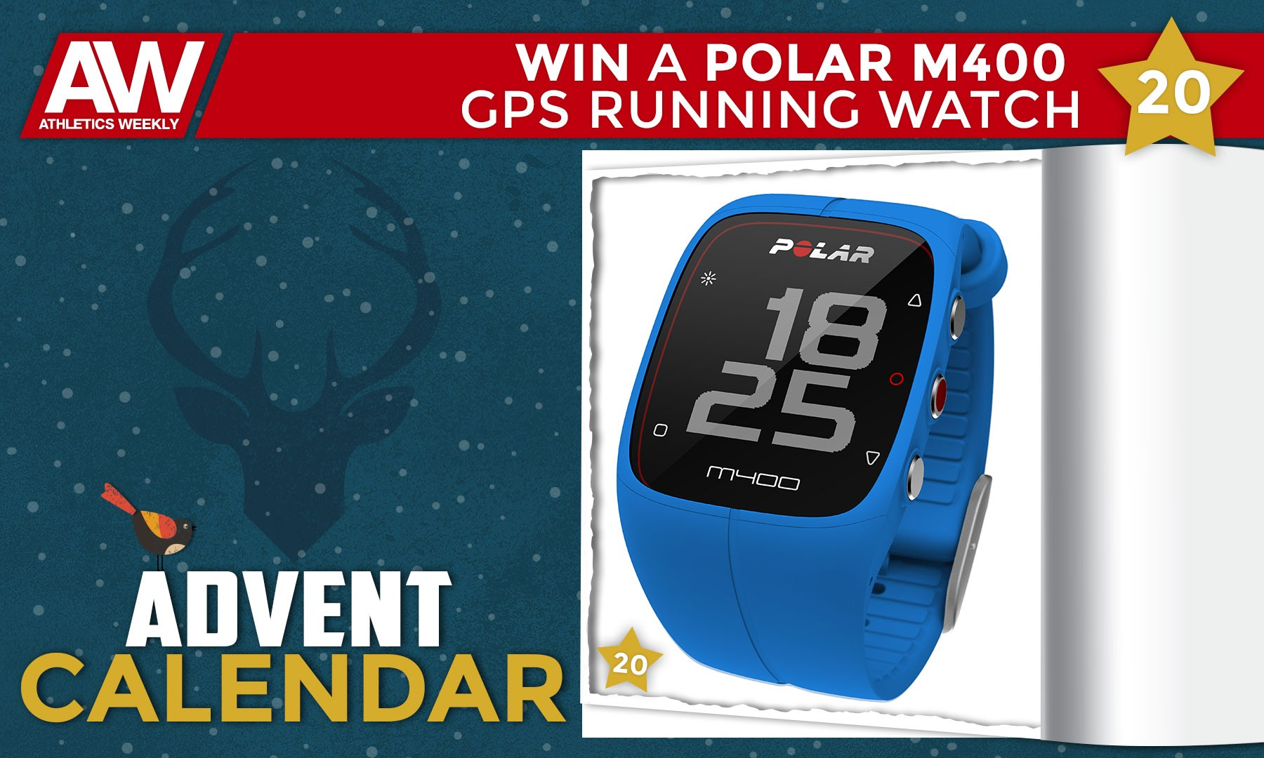 Win a Polar M400 GPS running watch