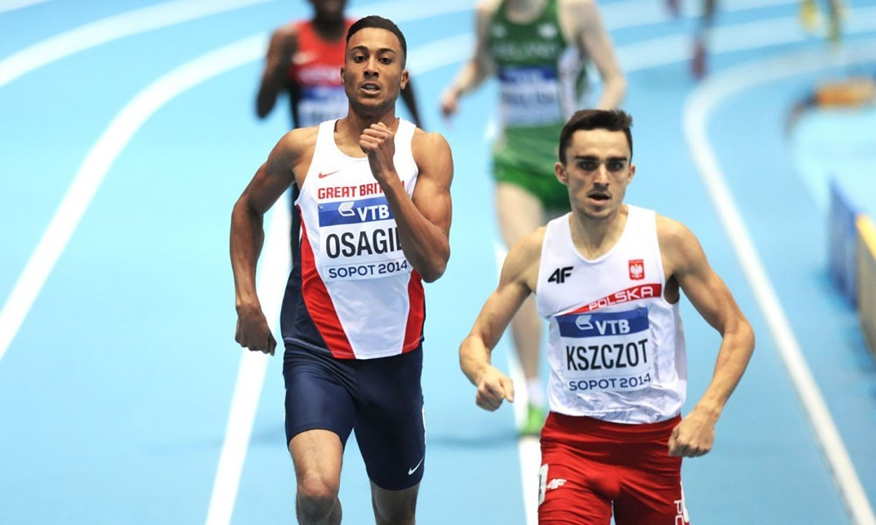 Andrew Osagie back in the running