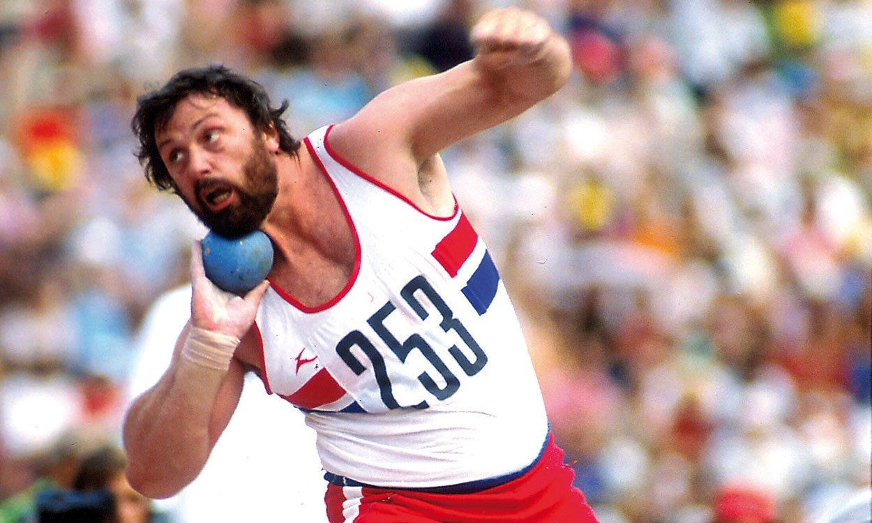 Geoff Capes, the ultimate big shot