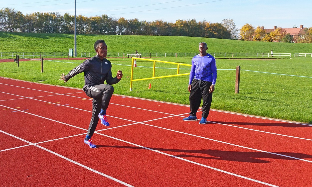 Herculean times from young sprinter Jaleel Roper