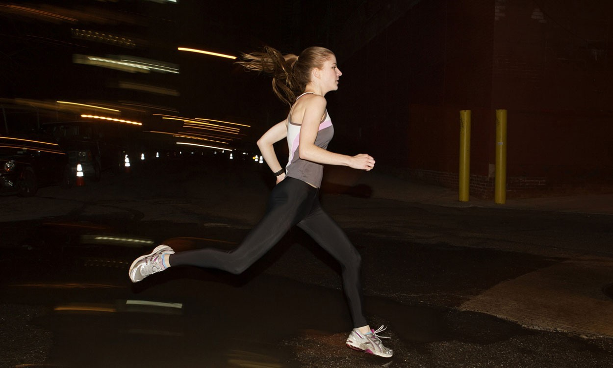 What's the evidence? Running in the dark