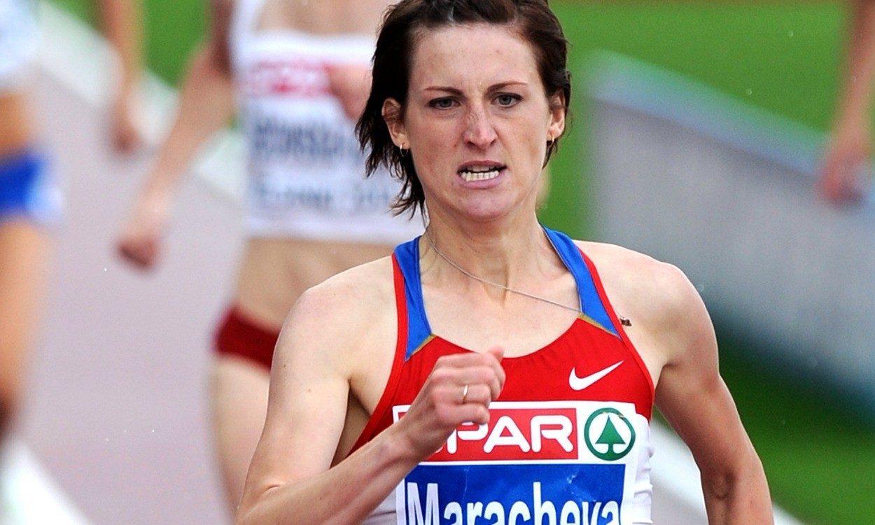Euro medallist Irina Maracheva among four Russians banned for doping