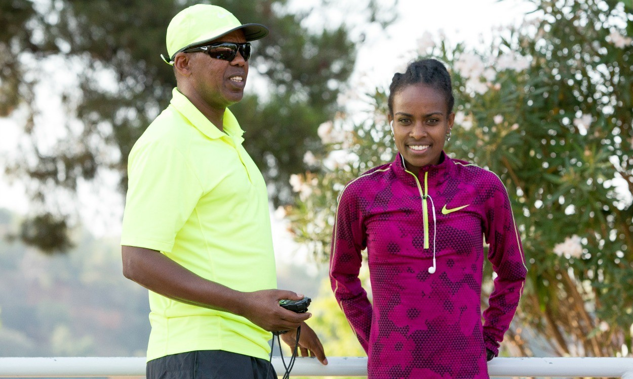 Jama Aden interview: Coaching Genzebe Dibaba