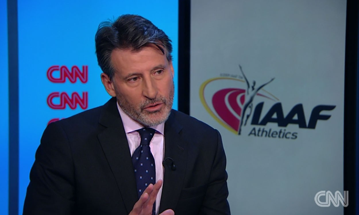 """IAAF president Seb Coe: """"There is no cover up"""""""
