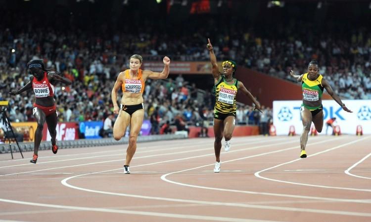 shelly-ann fraser-pryce 100m