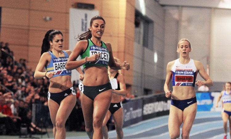 Adelle Tracey British Indoor Champs