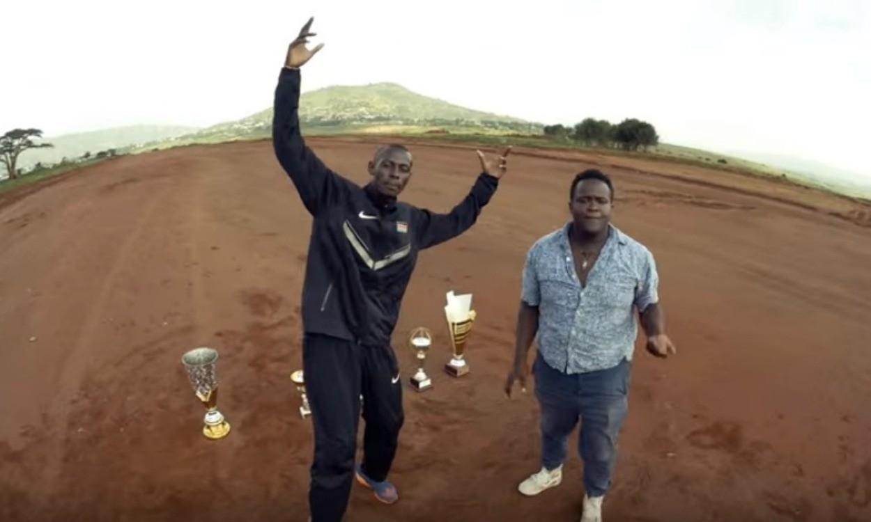 Caleb Ndiku stars in new rap song and video