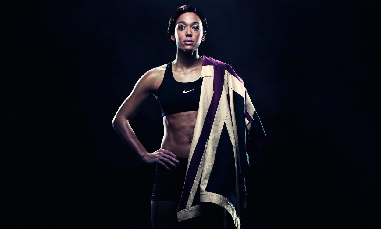 Katarina Johnson-Thompson's golden focus