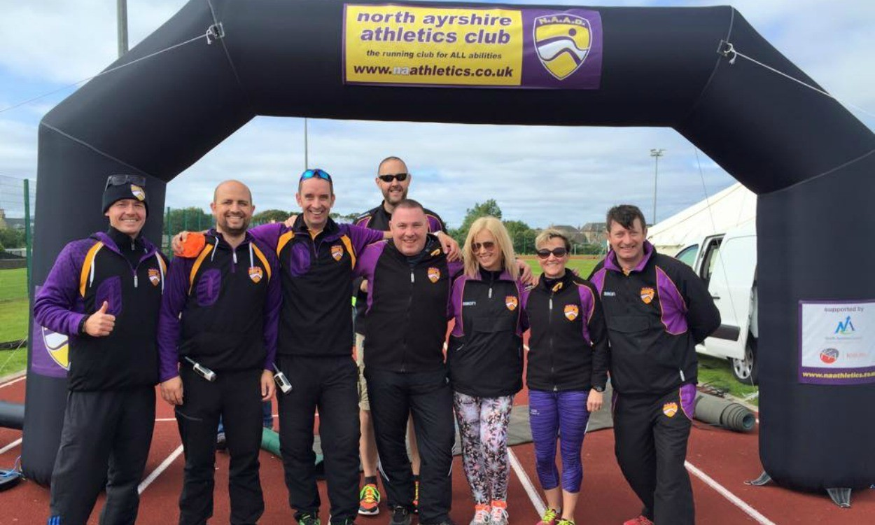 Club night – North Ayrshire AC