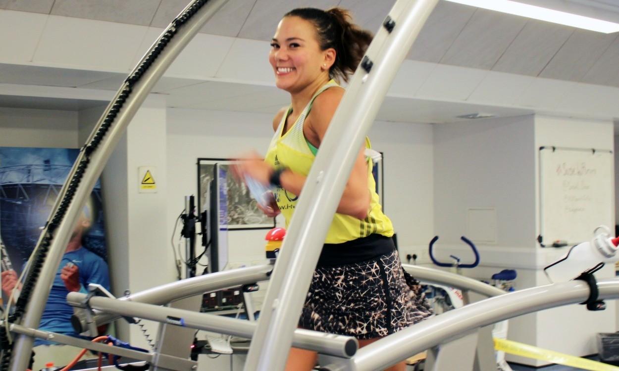 Susie Chan breaks 12-hour treadmill world record