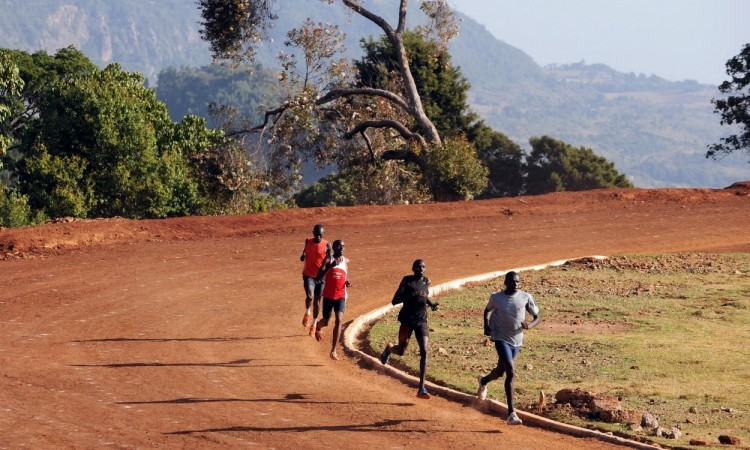 athletes training in kenya