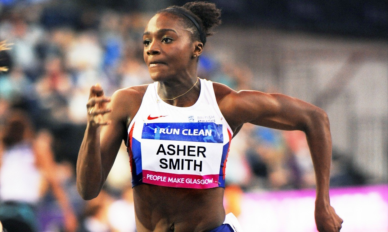 Dina Asher-Smith learns lessons from Glasgow Indoor Grand Prix