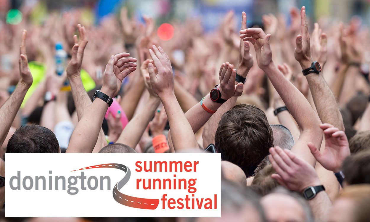 Great Run launches new Donington Summer Running Festival