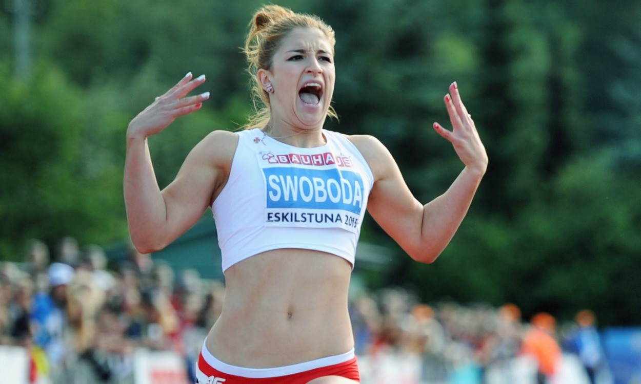 Ewa Swoboda breaks world junior 60m record in Torun