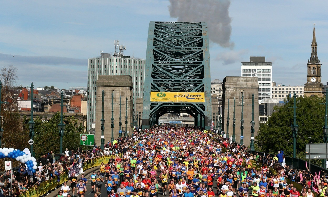 Great North Run closing in on Great World Run target