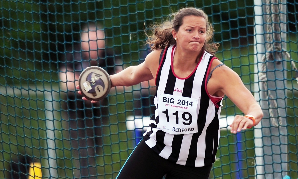 Jade Lally breaks English discus record in Auckland